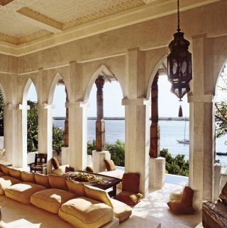Exotic Outdoor Space and Claudio Modola in Lamu, Kenya