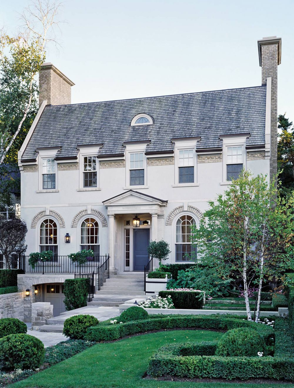 Exterior By Katherine Newman By Architectural Digest Ad