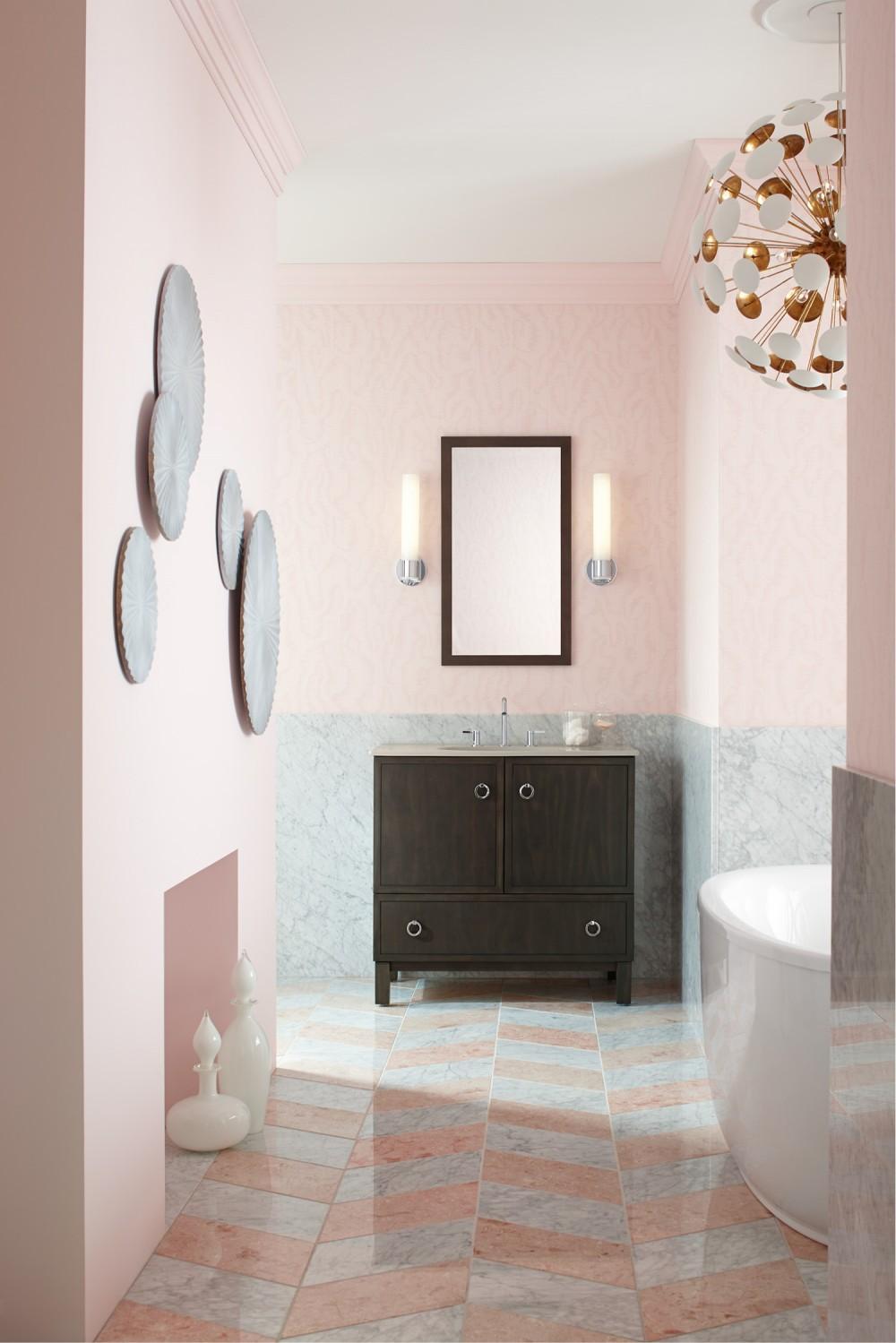 Petal Pink Bathroom Kohler