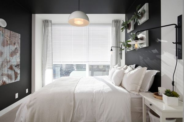 brightening dark interiors light bedding master bedroom 10 Easy Tips For Brightening The Darkest Rooms Of Your Interiors