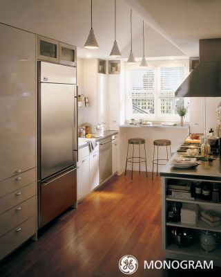 GE Monogram Galley Kitchen