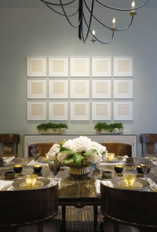 Modern Dining Room by Emily Summers Design Associates in Dallas, Texas