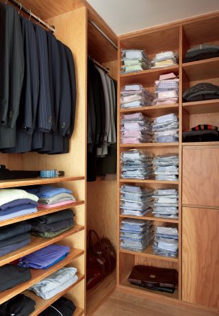 Modern Dressing Room Closet By MR Architecture D Cor AD
