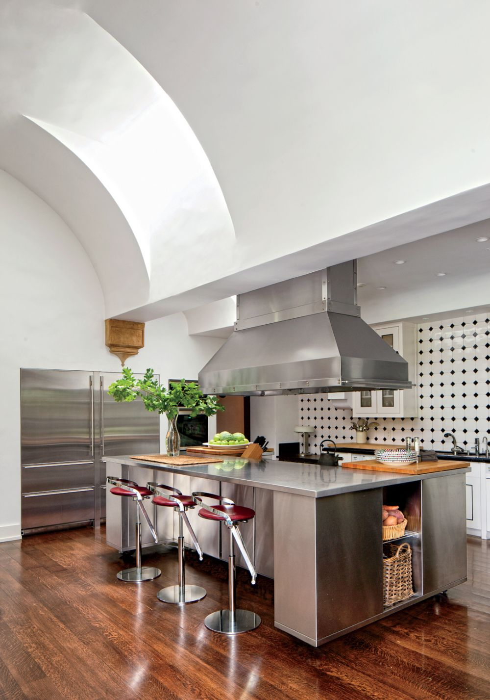 Modern Kitchen By Nancy Heller By Architectural Digest Ad Designfile Home Decorating Photos