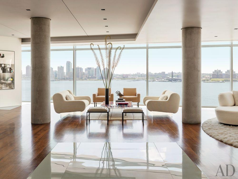 Modern living room by ingrao inc ad designfile home for Modern new york living room