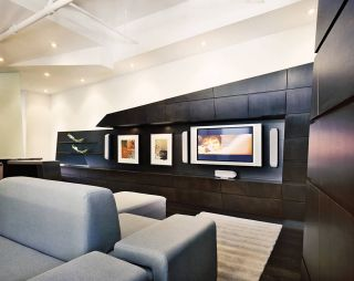 Modern Living Room and Anthony Montalto in New York, New York