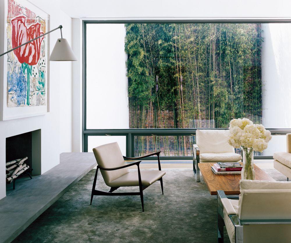Modern living room by steven harris architects by for Modern new york living room