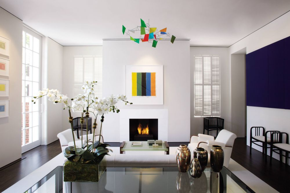 modern living room by jacobsen architecture by. Black Bedroom Furniture Sets. Home Design Ideas