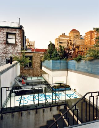 Modern Outdoor Space by India Mahdavi and 1100 Architect in New York, New York