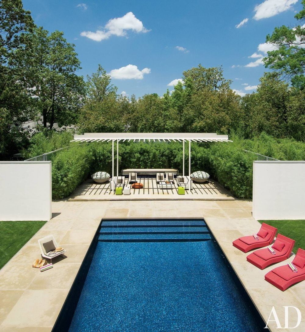 Modern Backyard Pool Designs : Modern Pool by Cadwallader Design  AD DesignFile  Home Decorating