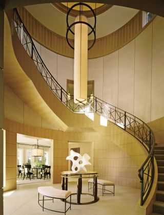 Modern Staircase/Hallway by Thomas Pheasant in Las Vegas, Nevada