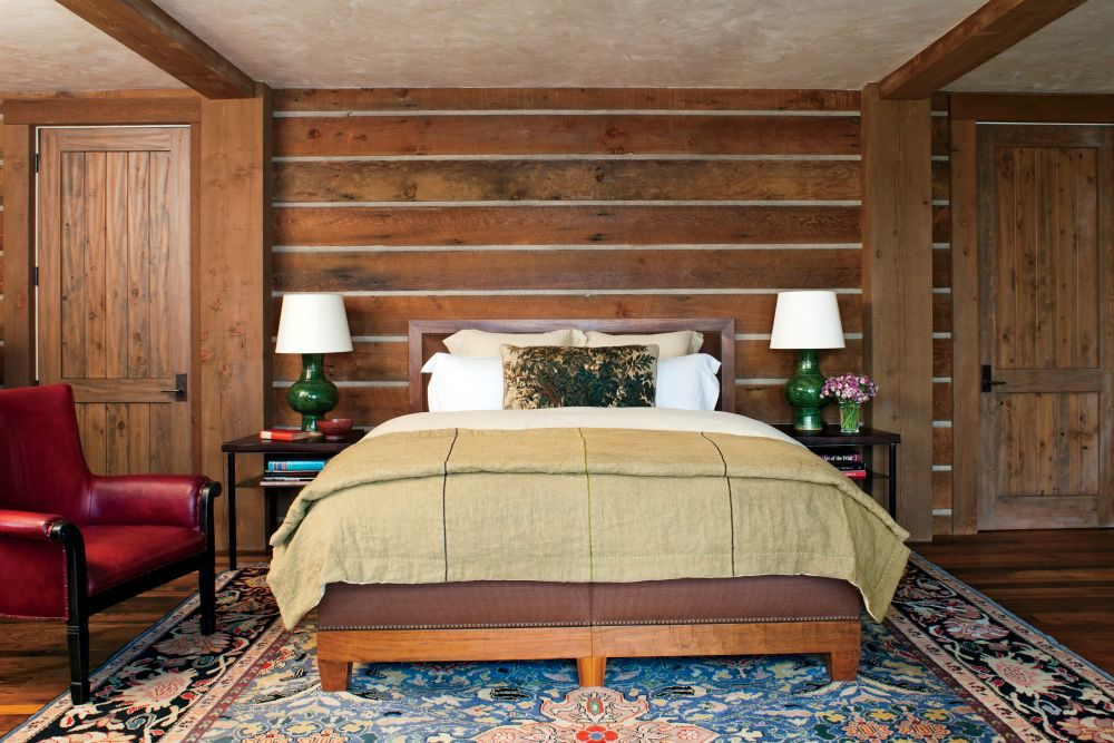Rustic bedroom by michael s smith inc by architectural for Home decor of 9671 inc