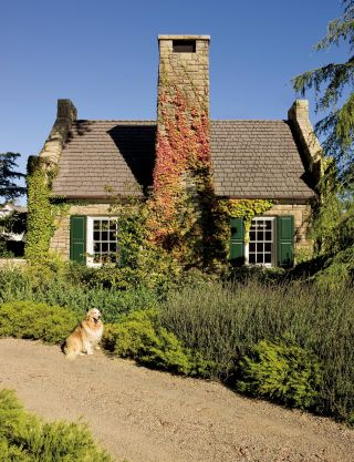 Rustic Exterior by Lane-McCook & Associates and Appleton & Associates in Santa Barbara, California