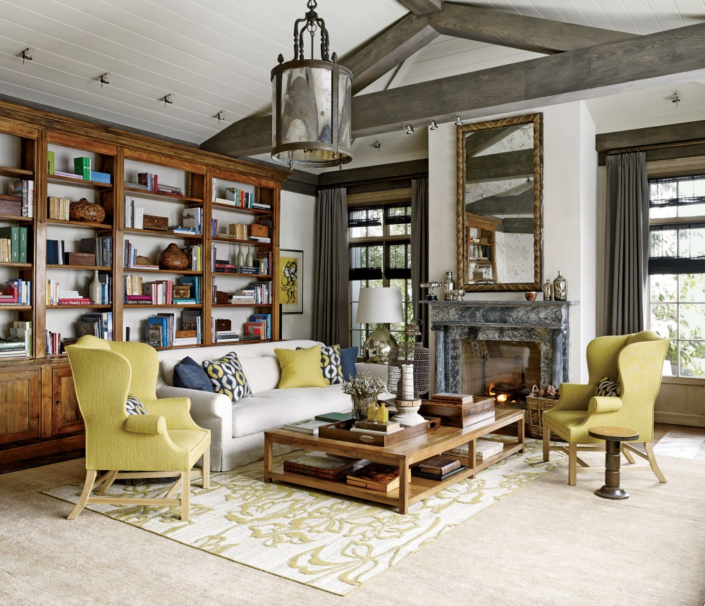 Rustic Living Room By S R Gambrel Inc By Architectural