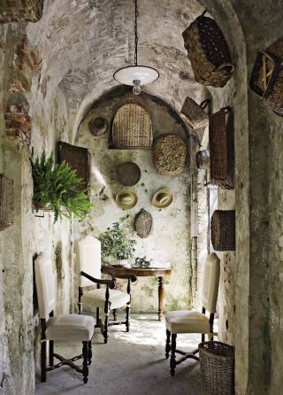 Rustic Outdoor Space by Dede Pratesi in Tuscany, Italy