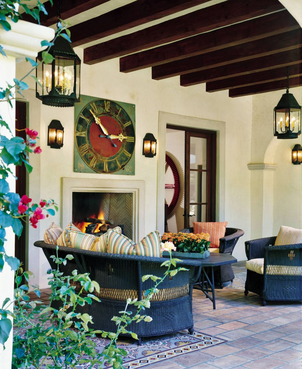 Garden Decor Los Angeles: Rustic Outdoor Space By Karin Blake By Architectural