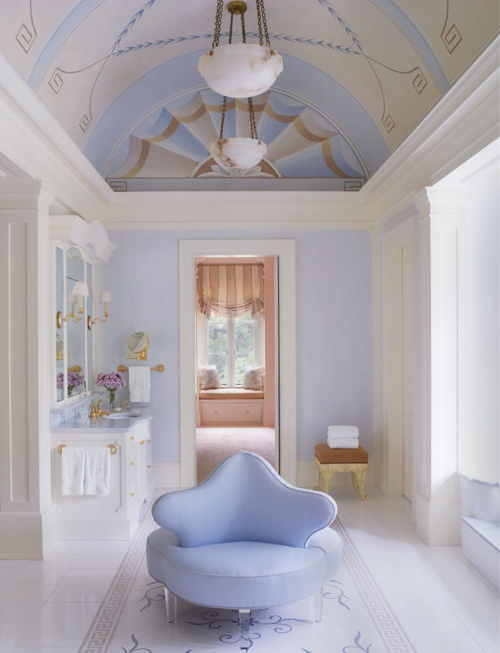 Traditional Bathroom By Bunny Williams Inc By Architectural Digest Ad Designfile Home