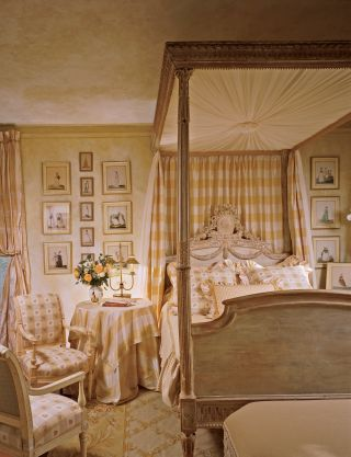 Traditional Bedroom by Diane Burn in West Palm Beach, Florida
