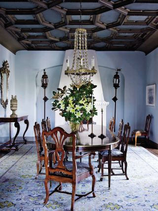 Traditional Dining Room by Madeline Stuart & Associates and Kevin A. Clark in Los Angeles