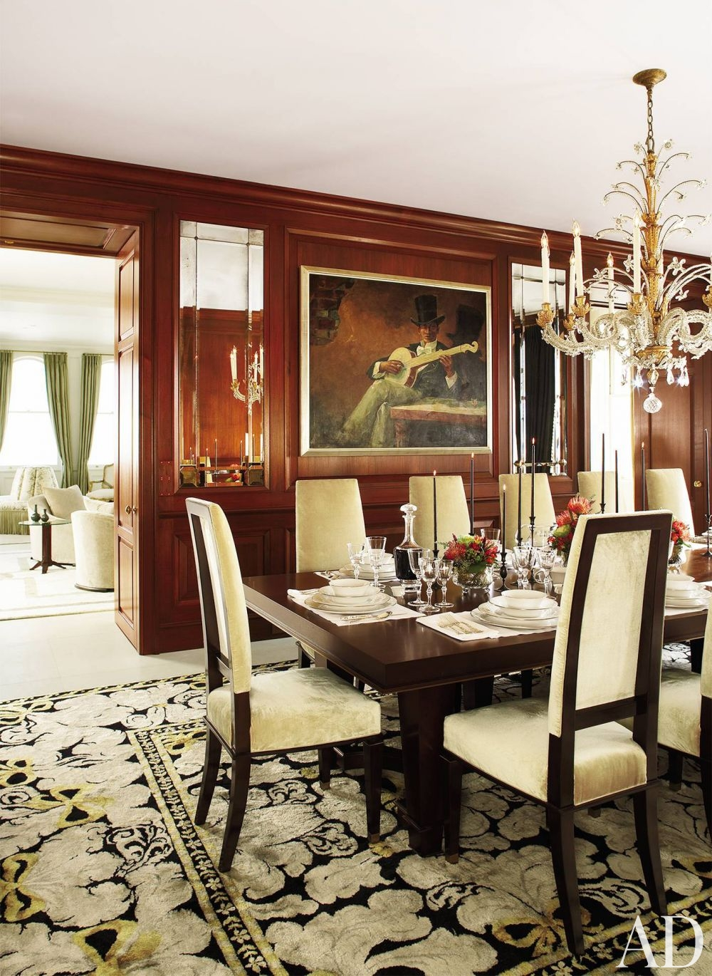 Traditional dining room design - Traditional Dining Room By Monique Gibson Interior Design Llc Designer 21