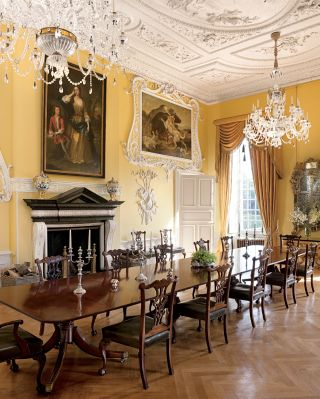 Traditional Dining Room by Spencer-Churchill Designs Inc. and Ptolemy Dean Architects Ltd. in Northamptonshire, England