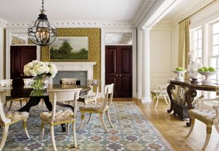 Traditional Dining Room by Thomas Pheasant in Virginia