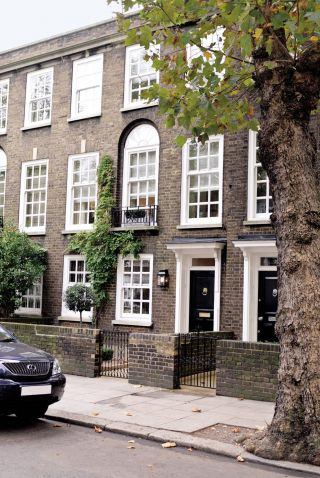 Traditional Exterior and Fox Linton Associates in London