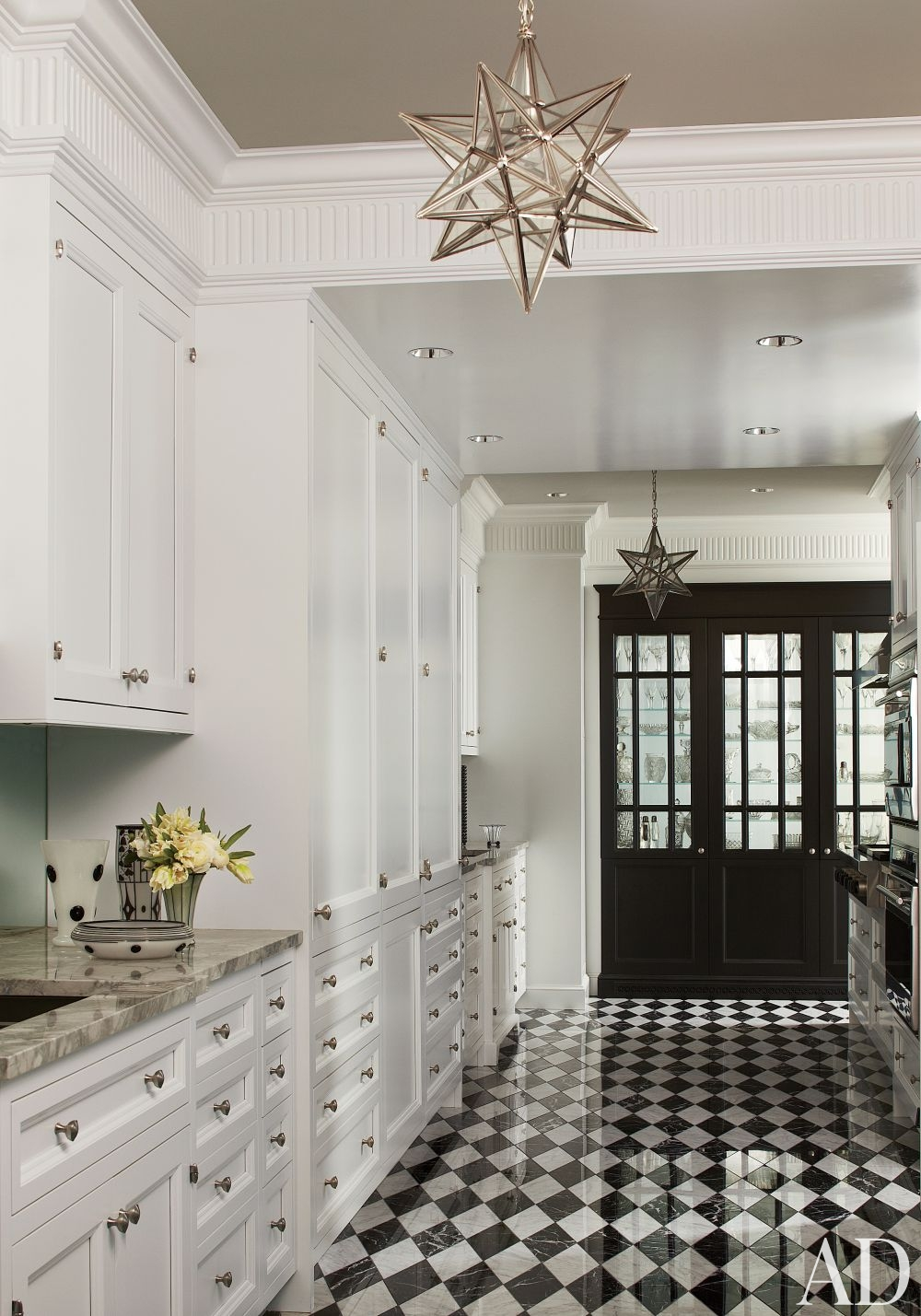 Traditional kitchen by jean louis deniot ad designfile for Floor and decor chicago