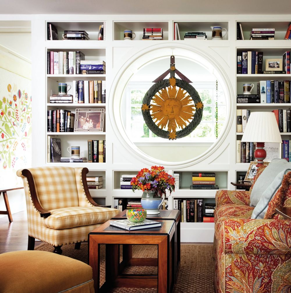 Traditional Living Room By Cullman Kravis By Architectural Digest Ad Designfile Home