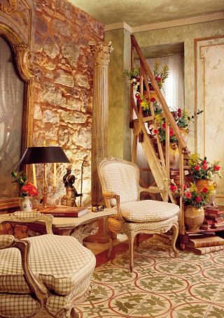 Traditional Living Room by Diane Burn in Panama City