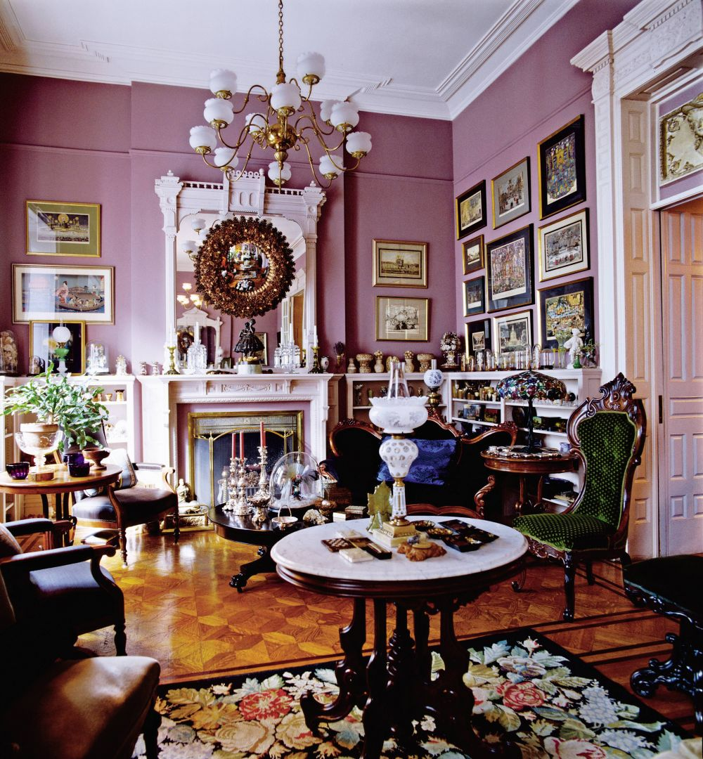 Traditional living room by gray foy by architectural for W living room new york