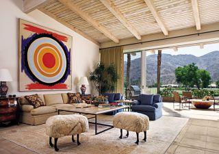 Traditional Living Room by Randy Patton in La Quinta, California