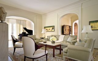 Traditional Living Room by Thad Hayes Inc. and Muse Architects in Washington, D.C.