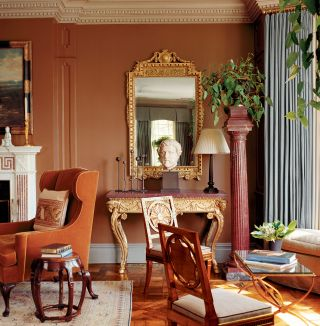 Traditional Living Room by Timothy Whealon and David Stanton in New York
