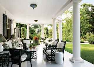 Traditional Outdoor Space by Miles Redd and Knight Architecture in Greenwich, Connecticut